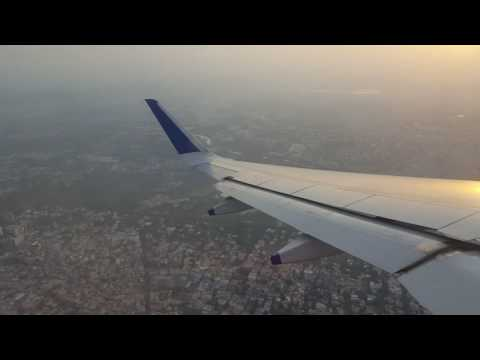 Indigo airlines take off MAA to BOM