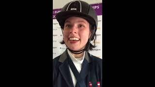 Julia Sciancalepore (AUT/K): Para Dressur Europameisterschaft Göteborg 2017 - EQWOtv