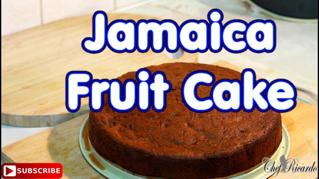 Watch Jamaican Christmas Cake Recipe video