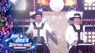 Top Secret Drum Corps End Of The Show Show - Saturday Night Takeaway