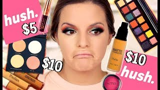 I TRIED AFFORDABLE MAKEUP FROM THE HUSH APP... HITS & MISSES    Casey Holmes