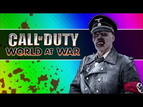 Back to the Future Zombies! (Call of Duty WaW Zombies Custom Maps, Mods, & Funny Moments)