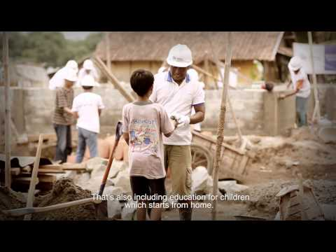 Habitat for Humanity Indonesia - Video Profile 2014 (English Version)