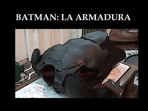 Batman Tutorial  pt (3/6) 'ARMADURA'  [THE ARMOR]