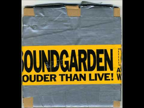Soundgarden - Big Bottom (Louder Than Live Promo CD) HD