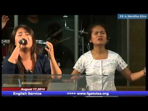 Agust 17,2014 English Service Praise and Worship