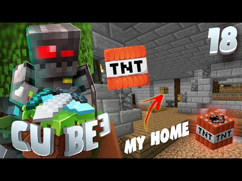 Minecraft Cube SMP S3 Episode 18: Blowing My House Up