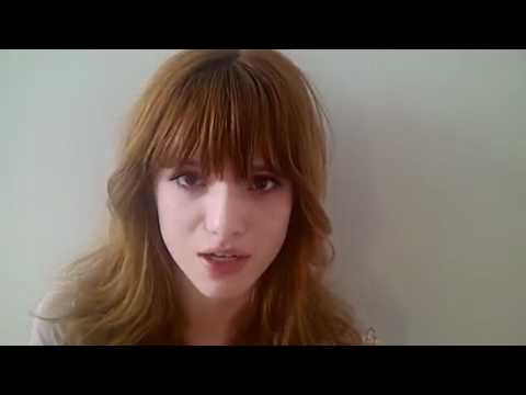Bella Thorne makes an emotional appeal to stop Bullying