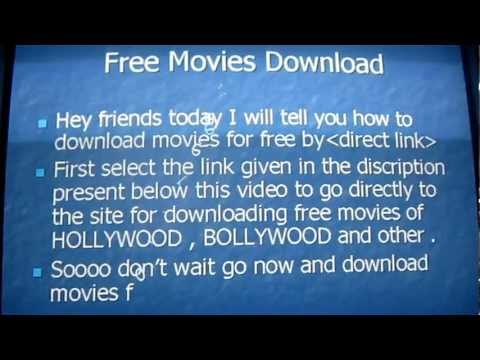 How To Download Movies For Free video