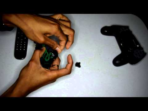 How to fix PS4 R2 & L2 Button back onto the controller
