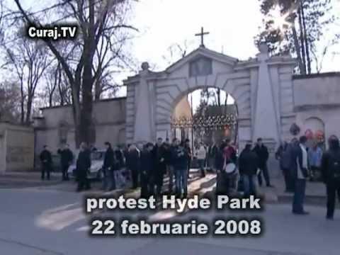 Protest din 2008: Şapte ani sub comunişti