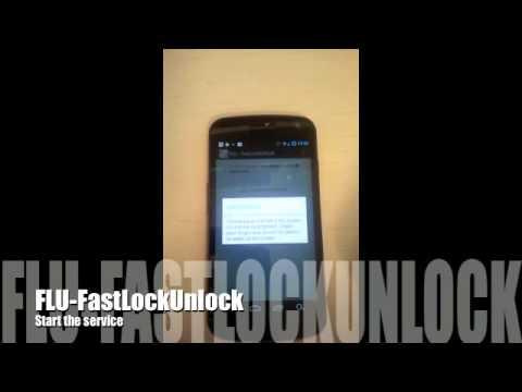Android Application: FLU -  Fast Lock Unlock