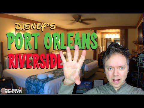 Disney's Port Orleans Riverside Resort and Room Tour