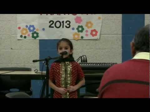 Hindi Poetry competition - Mira Feb 2013