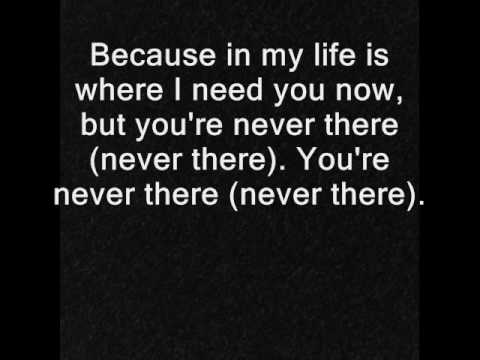 Hoobastank - Never There