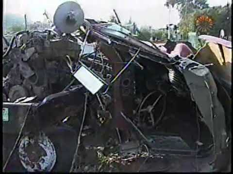 ACCIDENTE DE TREN TENAYUCA 1997