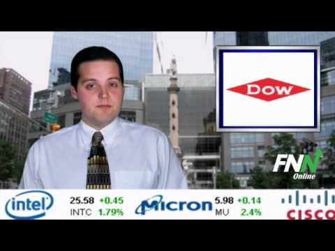 Dow Chemical Reporting Lower Earnings in the Second Quarter