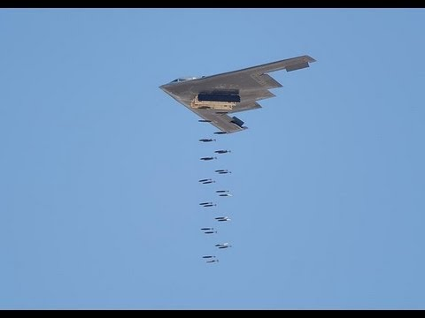 b 52 stealth bomber  Stealth Bomber Carpet Bombing