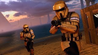Star Wars Battlefront: Melee Is So Broken! (Infiltration w/Friends)