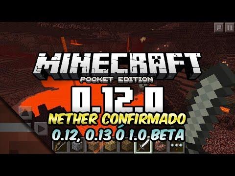 Noticias Minecraft PE 0.12 o 1.0 Beta | Nether Confirmado | Tommaso