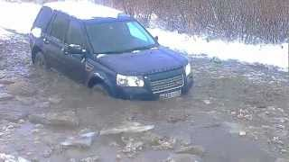 Land Rover Freelander 2, ice breaker