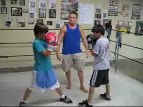 Boxing Parrying Jab Defense Training Workout. Image 1