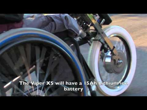 TEAM HYBRID HANDCYCLES Viper XS Power Cycle