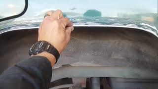 2000 jeep cherokee left rear fender cut and fold part 4