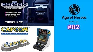 Capcom's Controversy, SNK's Neo Geo 2 and Sega Genesis Mini's New Batch of Games | Age of Heroes #82