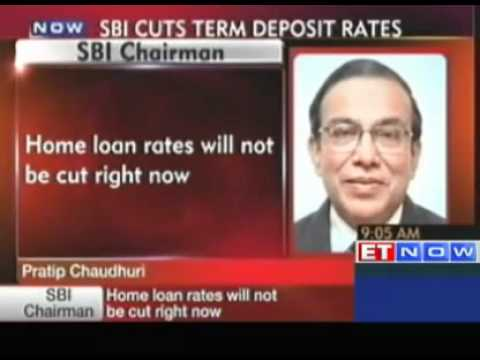 SBI - Home loan rates will not be cut right now