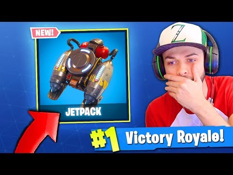 JETPACK is *FINALLY* coming to Fortnite: Battle Royale! (LEAKED INFO)