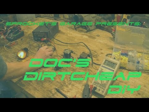 Doc's Dirtcheap DIY Ep. 1- V-Twin Diode Destruction