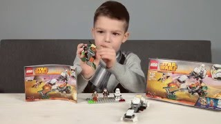 👌Конструктор Лего 75090 Cкоростной спидер Эзры 👌Lego Star Wars set Ezra's Speeder Bike