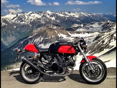 Ducati SportClassic & Triumph Thruxton - French Alpine Fun