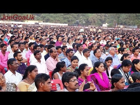 Manohar Parrikar 60th Birthday crowd