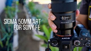 Initial Review | Sigma 50mm F1.4 Art for Sony E-Mount