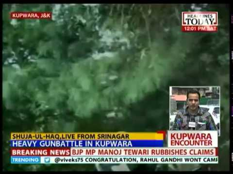 Heavy gunbattle in Kupwara