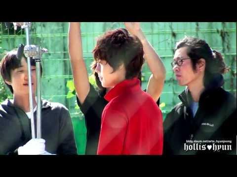 【Fancam】Actor Kimhyunjoong Making Film ⑩ : Playful Kiss...