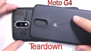 Moto G4 Teardown - Screen Replacement - Repair Video