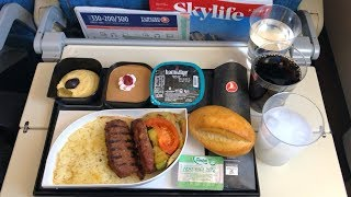Turkish Airlines Economy Class Airbus A330-200 Istanbul to Amsterdam