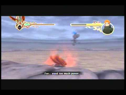 Naruto Shippuden Ultimate Ninja Storm 2: Sage Naruto Vs Pain (boss Battle) Part 1 2 ~english~ video
