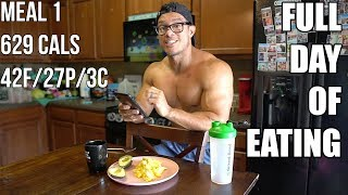 The Keto Cut | Ep. 23 | FULL DAY OF EATING