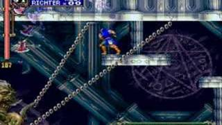 castlevania richter vs ALL 2nd castle