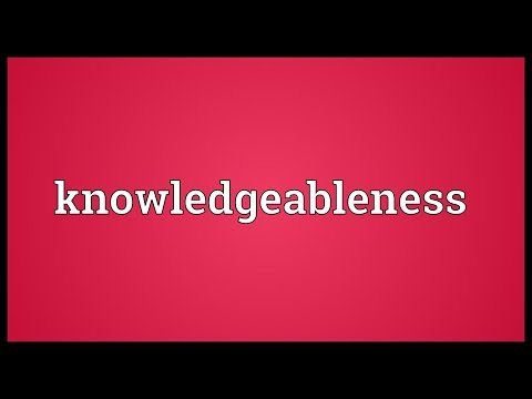 Header of knowledgeableness
