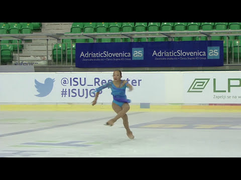 ISU 2014 Grand Prix- Ljubljana Ladies Free Skate