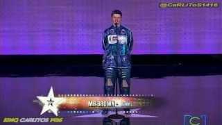 Colombia Tiene Talento 2T - Mr. BROWN - ROBOT STYLE - 13 de Mayo de 2013.
