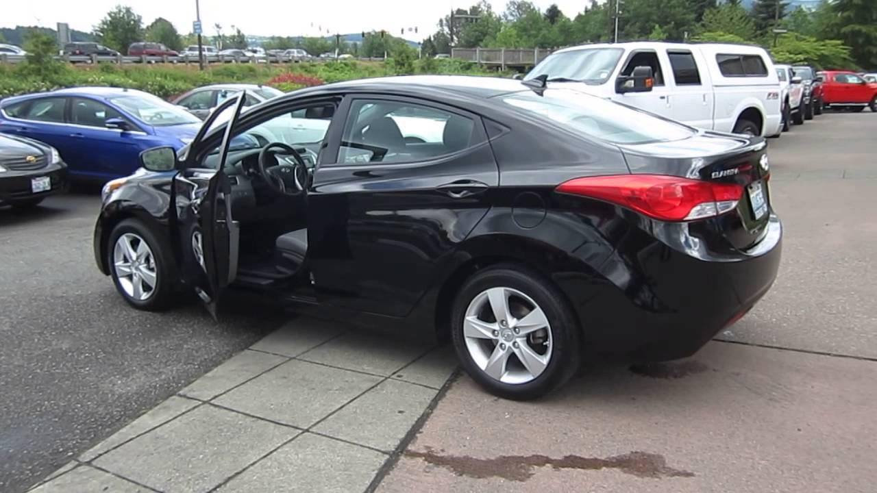 2011 Hyundai Elantra Black Stock 19727a Youtube