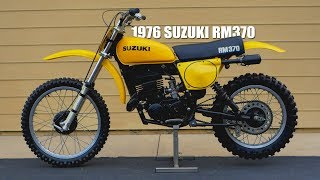 1976 Suzuki RM370 - Tom White's Museum