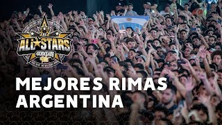 Mejores rimas God Level All Stars Argentina 2019 | Red Bull Batalla de los Gallos