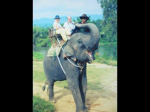 Часть 20.Слоны на реке Квай.